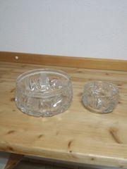 Kristall schalen Dekor Schleuderstern