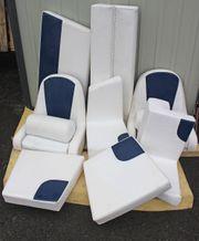 Polstersatz Kunstleder Polar - Carbon für