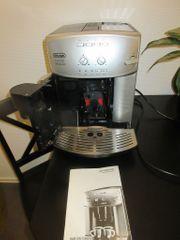 Ein gebrauchter Delonghi Kaffeevollautomat zu