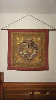 Wandteppich aus Thailand