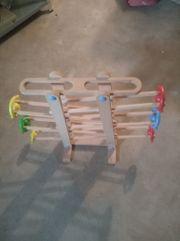 Beluga Kugelbahn aus Holz