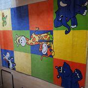 Kinderzimmer Teppich Tiermotiv Masse ca