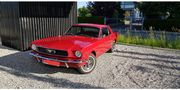 Ford Mustang 1966 coupe Hochzeitsauto