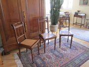 3 Stühle aus der Gründerzeit