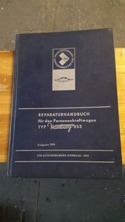 Reparaturhandbuch Wartburg 353