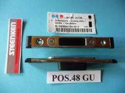 GU-Schließplatten Secury 6-28984-01-0-1 silber 6-28984-01-0-3
