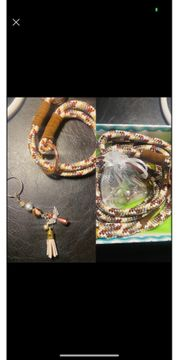 Hundeleine Halsband Unikat by Sabrina