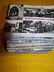 Alte Ansichtskarten DDR Karton voll