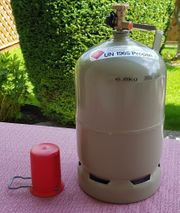 Propangasflasche 5 kg inkl roter Schutzkappe