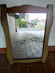 schöner rustikaler Spiegel
