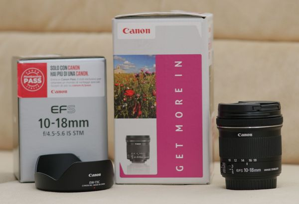 Canon EF-S 10-18 mm f