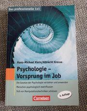 Psychologie - Vorsprung im Job von