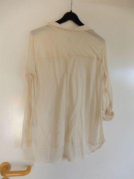 Bild 4 - Transparente Langarm-Bluse v Atmosphere -beige - Schwetzingen