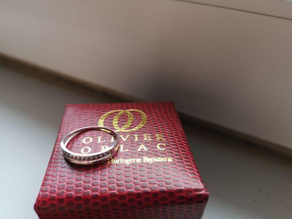 Damenring Olivier Orlac Weißgold 9