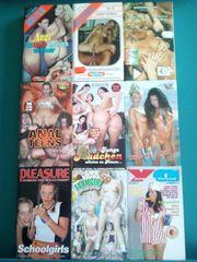 Erotik VHS zu verkaufen