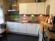 gebrauchte Einbauküche mit Elektrogeräten