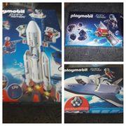 Playmobil Weltraumrakete Shuttle Satellit
