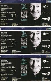 Phil Collins Konzertkarten in KÖLN