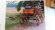Kutsche Wagonette Holz