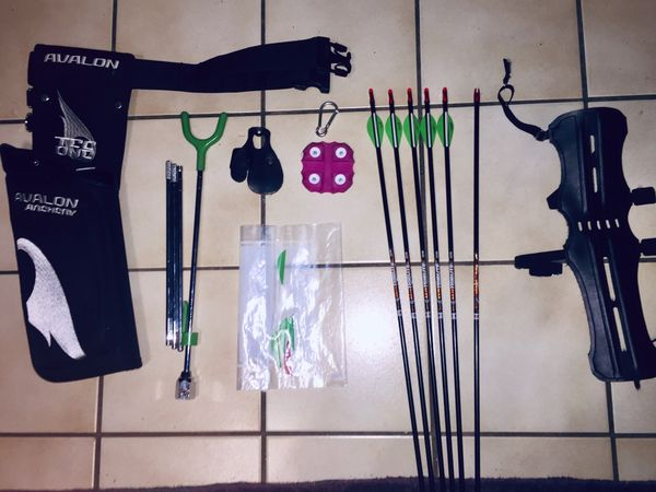 Ausrüstung fürs Bogenschießen
