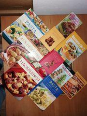 Kochbücher 10 Stk divers