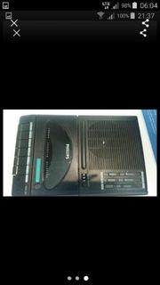 Philipps AQ 6350 Casetten Recorder