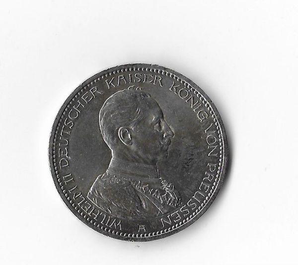 5 Mark Silber-Münze 1914