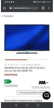 Grundig Tv Fernsehen 50 Zoll