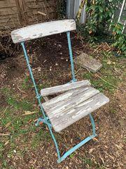 Gartenstuhl zu verschenken