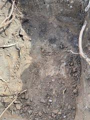 Mutterboden abzugeben