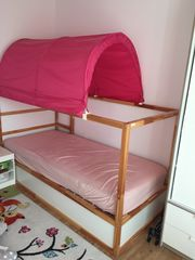 Kura Bett inkl Matratze und