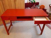 Ikea Schreibtisch rot
