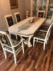 Esstisch ausziehbar 2m Tisch 6