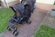 Geschwisterwagen Doppelwagen Kinderwagen chic 4