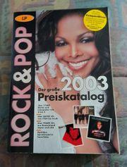 Buch Lp-Rock Pop 2003 Preiskatalog