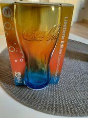 Coca Cola Regenbogenglas limited edition
