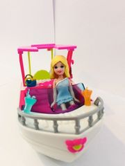 Polly Pocket Motorboot mit Schaukel
