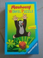 Maulwurfs Würfel Puzzle - 4-8 Jahre