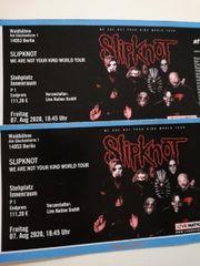 2x Slipknot Stehplatz Berlin 07