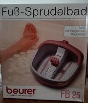 Breuer Fuß-Sprudelbad FB25 neu originalverpackt
