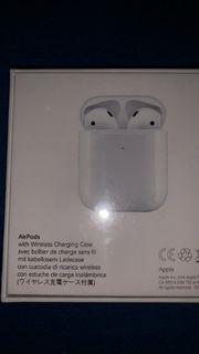 Apple Airpods 2te Generation mit