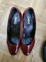 Schöne rote Schuhe Firma gabor