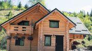 Wir bauen Ihnen schöne Holzhäuser