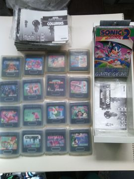 Sega Game-Gear Mega Drive Konsole: Kleinanzeigen aus Biblis Wattenheim - Rubrik Sega, Gerät & Spiele