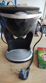 Praktische Filterkaffeemaschine für 1 Tasse