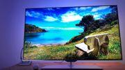 Ultraschlanker Full HD-Fernseher powered by