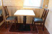 Tische u Stühle f Gastronomie