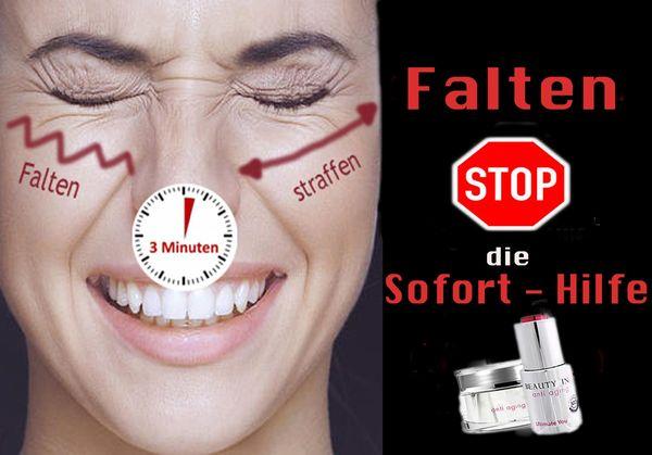Faltencreme Falten-Serum wirkt in Minuten