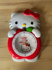 Wanduhr von Hello Kitty