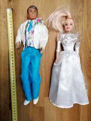 Puppen Hochzeitpaar